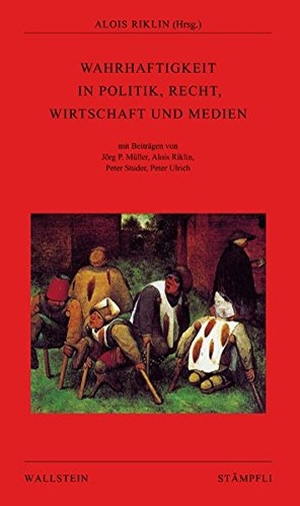 Alois Riklin / Jörg P Müller / Alois Riklin / Pe