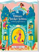 Mein Glitzer-Sticker-Schloss: Meerjungfrauen