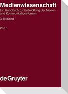 Medienwissenschaft, 3 Teilbände, Band3