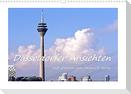 Düsseldorfer Ansichten mit Zitaten von Heinrich Heine (Wandkalender 2022 DIN A3 quer)