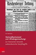 Nationalbesitzstand und »Wiedergutmachung«