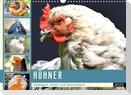 Hühner. Intelligent, schön und faszinierend (Wandkalender 2022 DIN A3 quer)