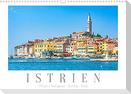 Istrien - Piran . Novigrad . Rovinj . Pula (Wandkalender 2022 DIN A3 quer)
