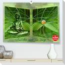 Buddha und Yin Yang (Premium, hochwertiger DIN A2 Wandkalender 2022, Kunstdruck in Hochglanz)