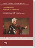 Akzisestädte im preußischen Westfalen