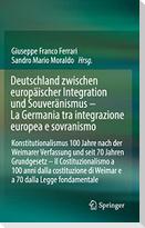Deutschland zwischen europäischer Integration und Souveränismus