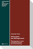 Philosophie des Managements