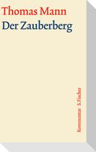 Der Zauberberg. Große kommentierte Frankfurter Ausgabe. Kommentarband