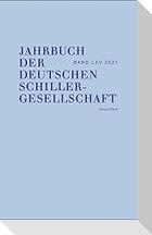 Jahrbuch der Deutschen Schillergesellschaft 65/2021