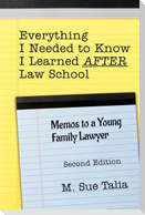 Everything I Needed to Know I Learned AFTER Law School: Memos to a Young Family Lawyer
