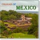 COLOURS OF MEXICO (Wall Calendar 2022 300 × 300 mm Square)