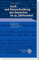 Groß- und Kleinschreibung des Deutschen im 19. Jahrhundert