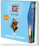 WAS IST WAS Die Jubiläums-Edition, 5 Bände im Geschenkschuber