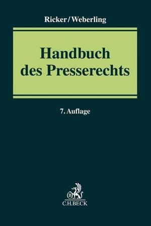 Löffler, Martin / Ricker, Reinhart et al. Handbuc