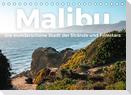 Malibu - Die wunderschöne Stadt der Strände und Filmstars. (Tischkalender 2022 DIN A5 quer)