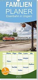 Eisenbahn in Ungarn (Wandkalender 2022 , 21 cm x 45 cm, hoch)