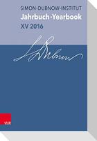 Jahrbuch des Simon-Dubnow-Instituts /Simon Dubnow Institute Yearbook / Jahrbuch des Simon-Dubnow-Instituts / Simon Dubnow Institute Yearbook XV/2016