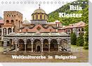 Rila Kloster - Weltkulturerbe in Bulgarien (Tischkalender 2022 DIN A5 quer)