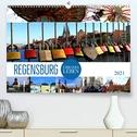 REGENSBURG - urbanes Leben (Premium, hochwertiger DIN A2 Wandkalender 2021, Kunstdruck in Hochglanz)