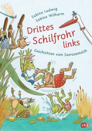 Ludwig, Sabine. Drittes Schilfrohr links - Geschichten vom Seerosenteich. cbj, 2021.