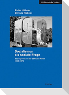 Sozialismus als soziale Frage