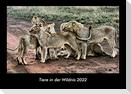Tiere in der Wildnis 2022 Fotokalender DIN A3