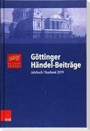 Göttinger Händel-Beiträge, Band 20
