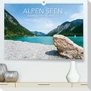 Alpen Seen (Premium, hochwertiger DIN A2 Wandkalender 2022, Kunstdruck in Hochglanz)