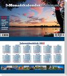 3-Monatskalender Deutschland 2022