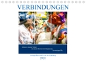 Verbindungen - Fotografien und Texte im Einklang (Tischkalender 2021 DIN A5 quer)
