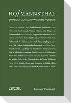 Hofmannsthal - Jahrbuch zur Europäischen Moderne