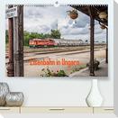 Eisenbahn in Ungarn (Premium, hochwertiger DIN A2 Wandkalender 2022, Kunstdruck in Hochglanz)