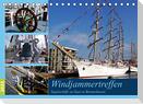 Windjammertreffen - Segelschiffe zu Gast in Bremerhaven (Tischkalender 2022 DIN A5 quer)