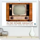 Fernseher der 1950er bis 70er Jahre: In die Röhre geguckt (Premium, hochwertiger DIN A2 Wandkalender 2022, Kunstdruck in Hochglanz)