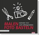 times & more Bastelkalender 2022, schwarz