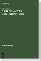 Carl Schmitts Reichsordnung