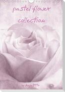pastel flower collection (Wandkalender 2021 DIN A4 hoch)