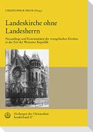 Landeskirche ohne Landesherrn