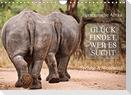 AFRIKA - Glück findet, wer es sucht (Wandkalender 2022 DIN A4 quer)