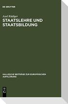 Staatslehre und Staatsbildung