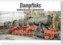 Dampfloks - eindrucksvolle Lokomotiven (Wandkalender 2022 DIN A3 quer)