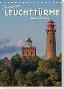 Die schönsten Leuchttürme - Deutsche Ostsee (Tischkalender 2022 DIN A5 hoch)