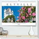 Eltville am Rhein - Wein, Sekt, Rosen (Premium, hochwertiger DIN A2 Wandkalender 2022, Kunstdruck in Hochglanz)