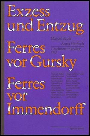 Marcel Beyer /  GRK 2132 / Friedrich Balke / Natal