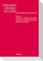Johann Georg Sulzer: Gesammelte Schriften