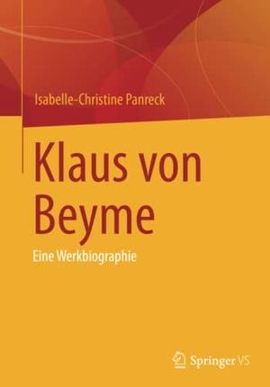 Panreck, Isabelle-Christine. Klaus von Beyme - Ein