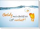 Goldy mein Goldfisch ist verliebt! (Wandkalender 2021 DIN A3 quer)