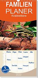 Krabbeltiere - Familienplaner hoch (Wandkalender 2022 , 21 cm x 45 cm, hoch)