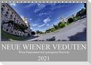 Neue Wiener Veduten - Wien-Panoramen mit geneigtem Horizont (Tischkalender 2021 DIN A5 quer)