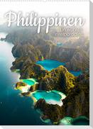 Philippinen - Ein wahres Inselparadies. (Wandkalender 2022 DIN A2 hoch)